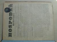 Hospodář Moravský 1-24 (1893-94) ročník XV.