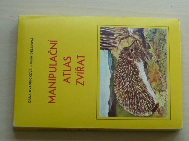 Kvasničková - Manipulační atlas zvířat (1981) il. Delévová, Učební pomůcka