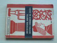 Lander, Remešová - Architektura, nábytek, kostym a ornament na jevišti (1957)