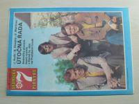 Sedmička pionýrů 1-52 (1974-75) ročník VIII. (chybí čísla 1-13, 39 čísel)