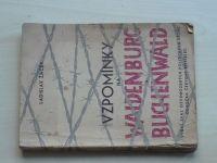 Žáček - Vzpomínky na Waldenburg a Buchenwald (1946)