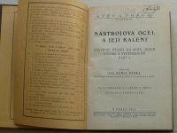 Ing. Ryska - Nástrojová ocel a její kalení - Nástroje řezací na kovy, jejich výroba,část I. (1921)