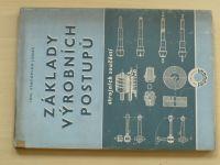 Jonáš - Základy výrobních postupů strojních součástí (1955)