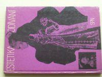 Kybalová - Estetika odívání (1981) učebnice pro SOU obor oděvní a textilní
