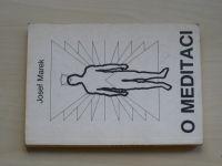 Marek - O meditaci - Soubor psychologických statí III (1990)