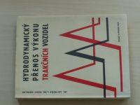 Průžek, Obermajer - Hydrodynamický přenos výkonu trakčních vozidel (1969)
