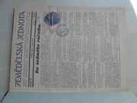 Zemědělská jednota 1-22 (1928) ročník VII. + Zhospodárnění práce zemědělské 1-10 (1928) ročník I.