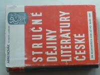 Novák - Stručné dějiny literatury české (1947)
