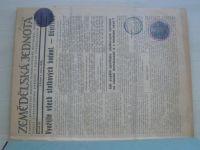 Zemědělská jednota 1-22 (1932) ročník XI. + Zhospodárnění práce zemědělské 1-10 (1932) ročník V.