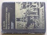 Herčko a kol. - Z  dejín geologických vied na Slovensku (1981)