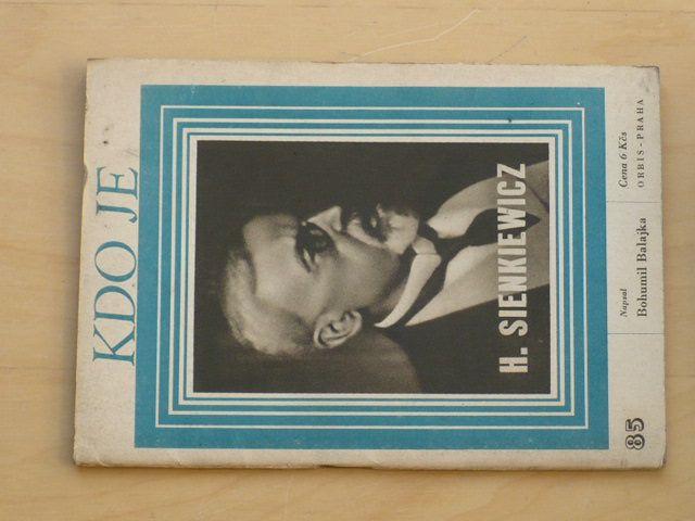 Kdo je - H. Sienkiewicz