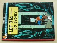 Hergé - Tintinova dobrodružství - Let 714 do Sydney (2011)