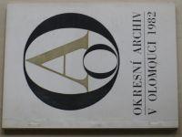Okresní archiv v Olomouci 1982 (1983)