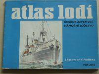 Pacovský, Podlena - Atlas lodí - Československé námořní loďstvo (1984)