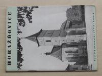 Birnbaumová - Poklady národního umění - Horažďovice (1941)