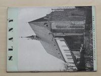 Pavelka - Poklady národního umění - Slaný (1941)