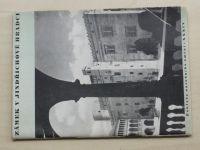 Tříska - Poklady národního umění - zámek v Jindřichově Hradci (1941)