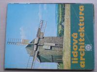 Lidová architektura - 15 barevných listů v obálce