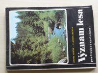 Mráček, Krečmer - Význam lesa pro lidskou společnost (SZN 1975)