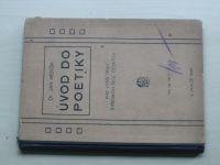 Menšík - Úvod do poetiky vyšším třídám středních škol českých¨(1930)