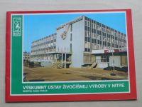 Výskumný ústav živočišnej výroby v Nitre (1987) slovensky