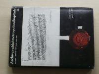 Archiv Pražské metropolitní kapituly II. - Katalog listin a listů z let 1420-1561 (1956)