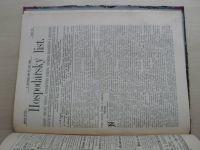 Hospodářský list 1-36 (1892) ročník XVIII. (chybí číslo 27, 35 čísel)