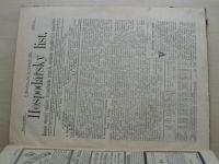 Hospodářský list 1-36 (1893) ročník XIX. (chybí čísla 1-2, 5, 11, 27, 31 čísel)