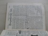 Hospodářský list 1-51 (1898) ročník XXIV.