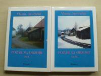 Javořická - Požár na obzoru 1 + 2 díl. (1996) 2 knihy