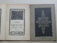 Bojko - Zbytečný I. a II. díl (1916, 1917) podpis autora