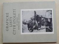 Grafické listy čtyř století ze sbírek Moravské galerie (1980) leden-únor 1980