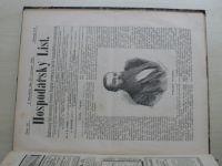 Hospodářský list 1-36 (1881) ročník VII. (chybí čísla 15-16, 34 čísel)