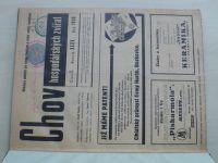 Chov hospodářských zvířat 1-12 (1936) ročník XXXV. (chybí číslo 2, 11 čísel)