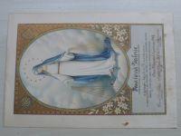 Členský list Mariánské družiny (1937)