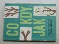 Dvořák - Co, kdy, jak v chemické ochraně ovocných rostlin (1968)