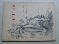 Hollar - Sborník umění grafického - sv. 2 (1938) ročník XIV.
