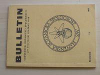 Bulletin 1 (1991) ročník XIII. (slovensky)