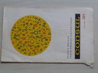 Návod k obsluze kancelářského psacího stroje - Consul model 205 (1973)