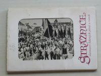 Strážnice, slavnosti lidových písní a tanců - Soubor 11 pohlednic (1958)