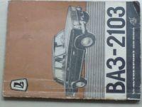 Návod k provozu a obsluze BA3-2103 (1974)