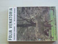 Folia venatoria 16 - Polovnický zborník - Myslivecký sborník 1986