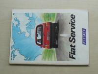 Fiat Service (nedatováno) - seznam servisů