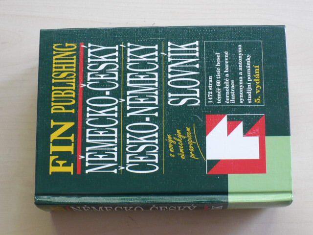 Německo-český a Česko-německý slovník (2001)