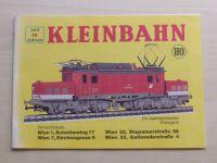 Kleinbahn HO (nedatováno) prospekt - německy