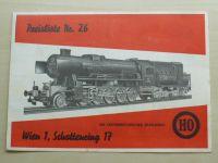 Kleinbahn - Preisliste NR. 26 (nedatováno) prospekt - německy