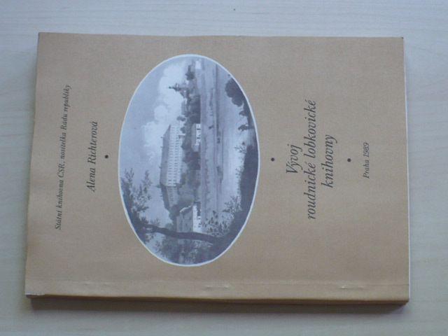 Richterová - Vývoj roudnické lobkovické knihovny (1989)