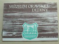 Čaplovičková - Múzeum oravskej dediny na Brestovej + pohlednice