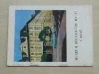 Franěk - Muzeum dělnického hnutí v Brně (1975)