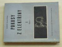 Hlavička - Pokusy z elektřiny I. (1955)
